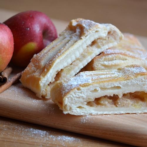 Závin listový s jabl. náplní 150g bal.